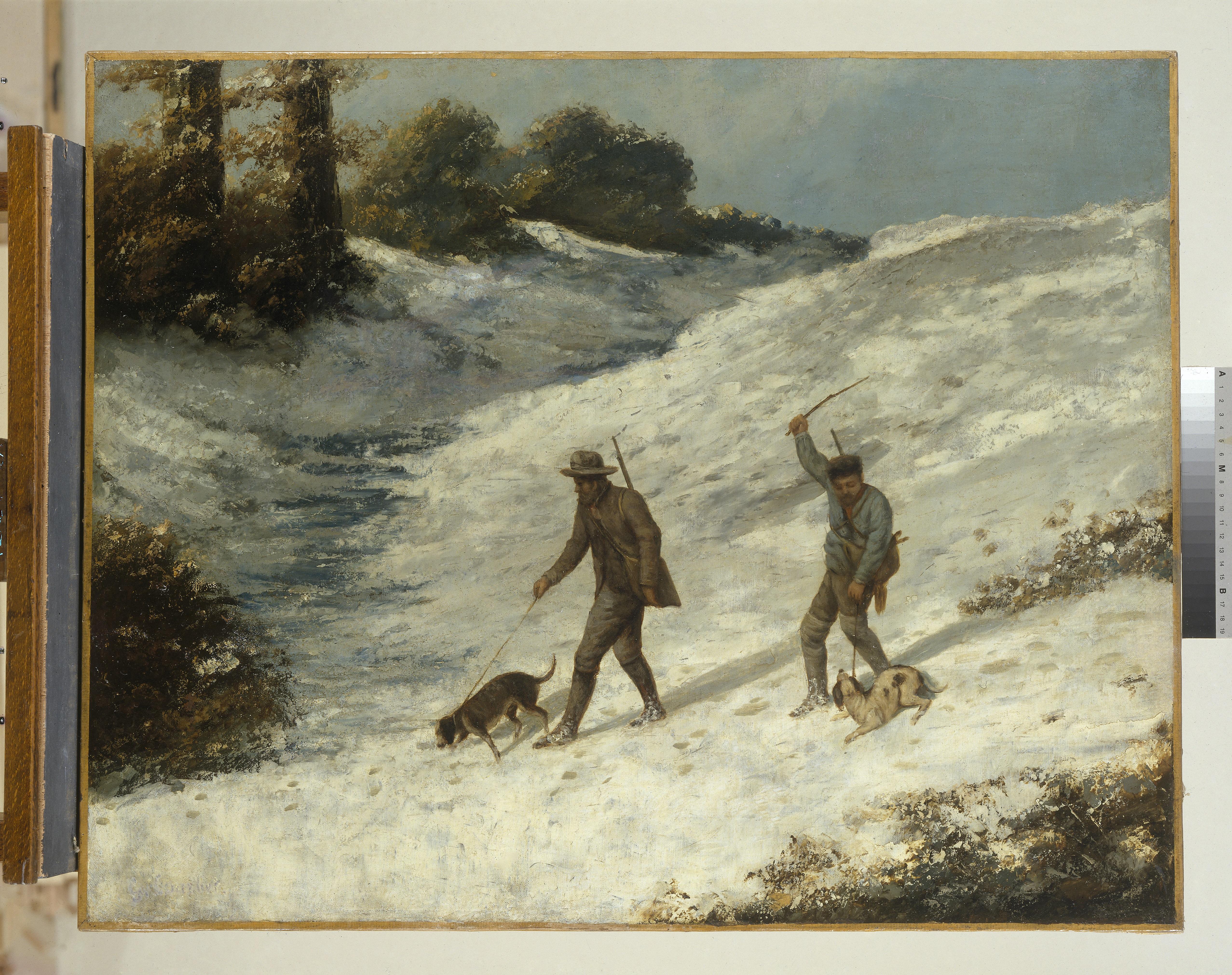 Les Braconniers dans la neige_0