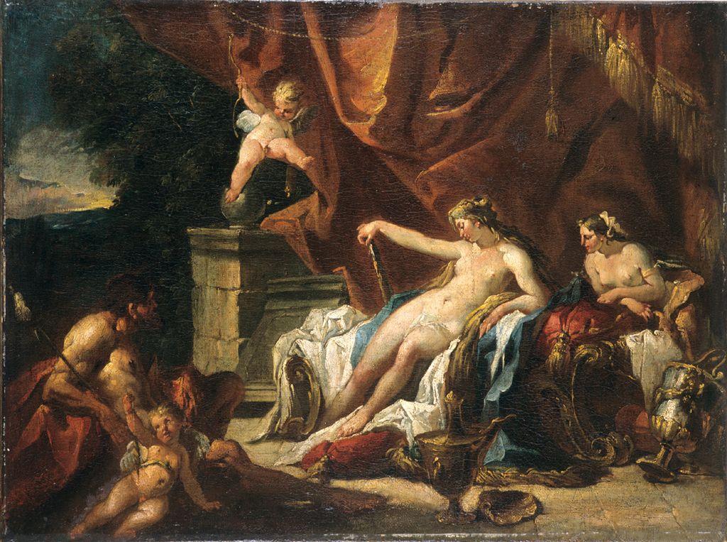 Hercule aux pieds d'Omphale_0