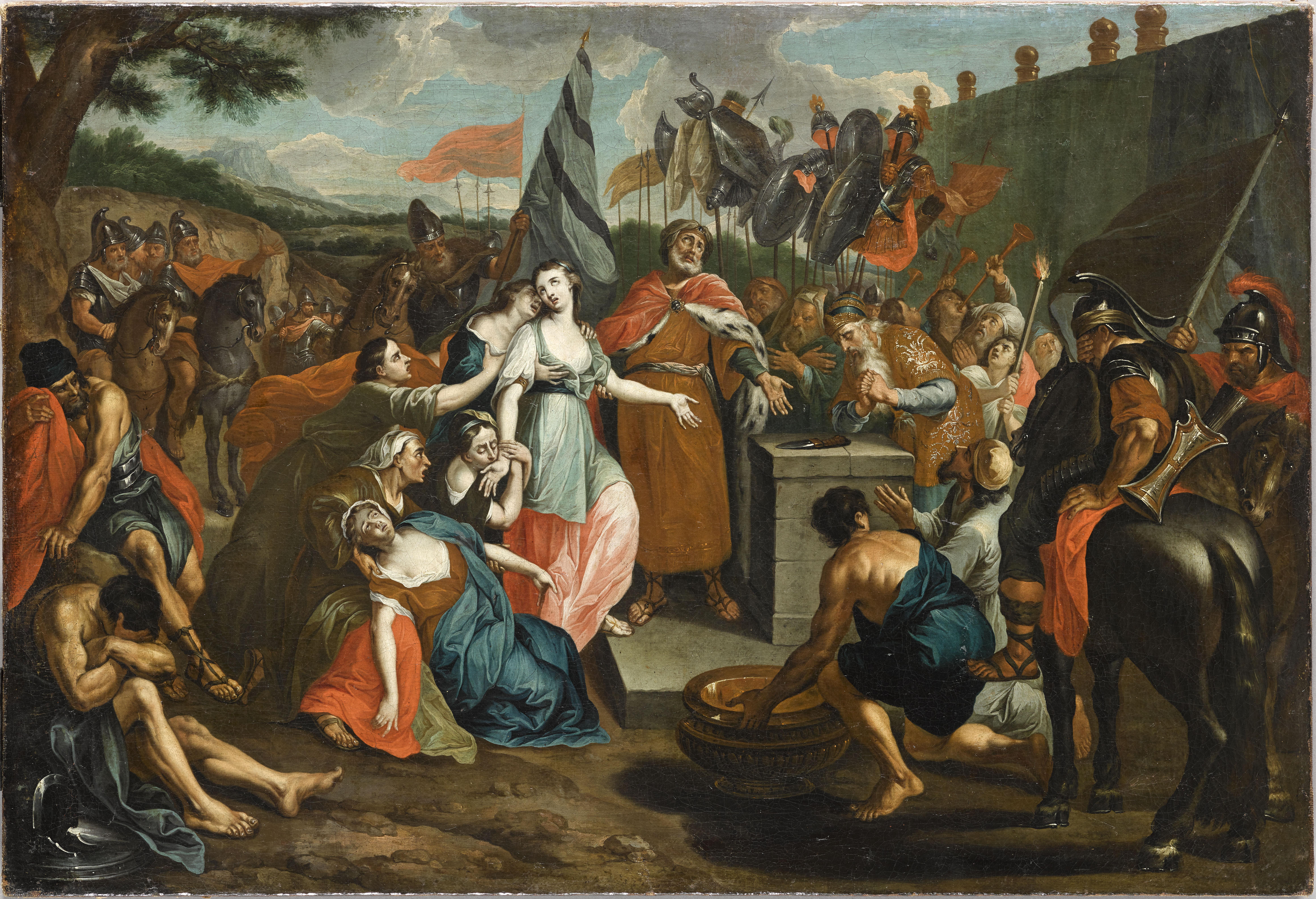 Le Sacrifice de la fille de Jephté_0