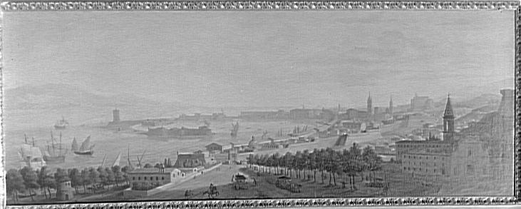 Vue du port de Messine_0