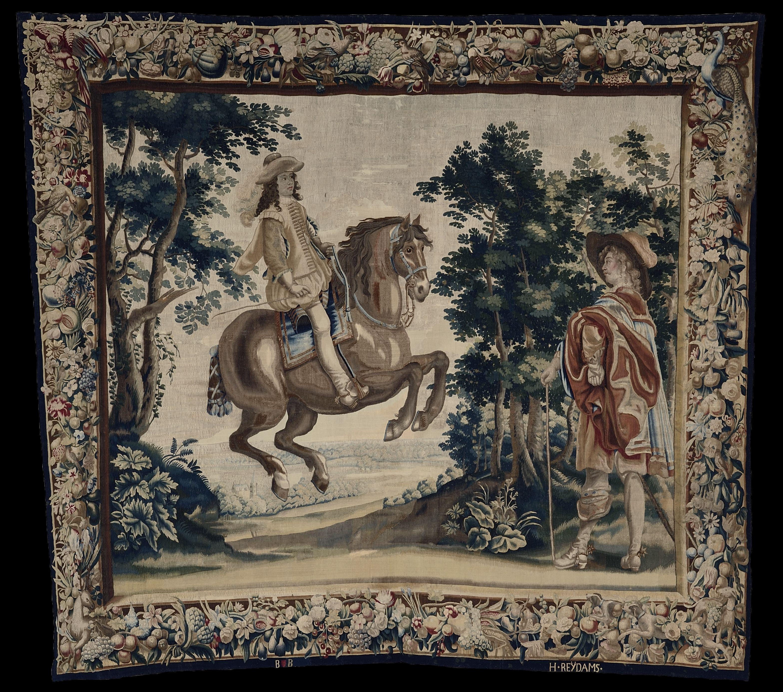 Exercices équestres de Louis XIII : Le Manège à passades_0