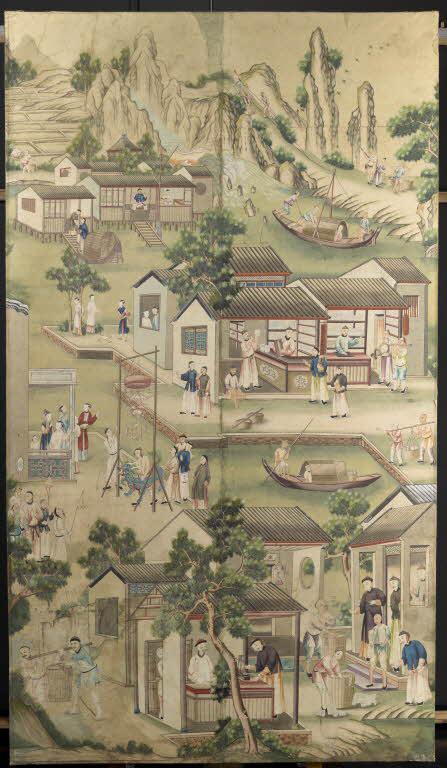 Panneaux à décor chinois_0