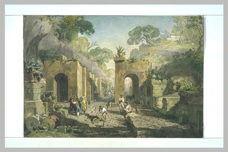 L'entrée de Pompéi par la porte d'Herculanum_0