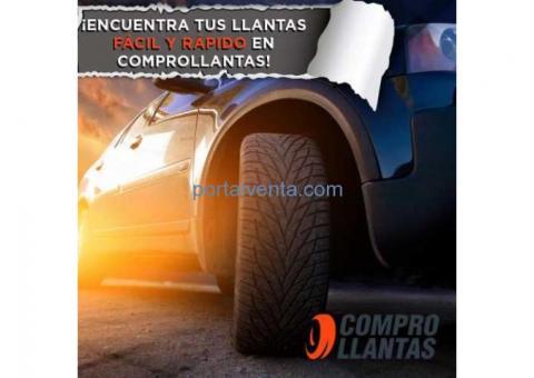 LLantas Nuevas para Auto y Camioneta