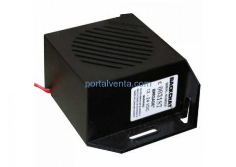 ALARMA MARCHA ATRÁS 90 dB 12-24 V.