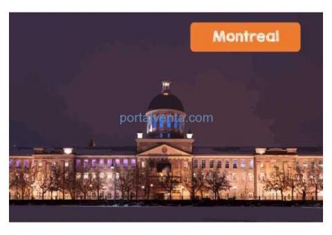 Cursos de Ingles/Frances en Montreal por $100