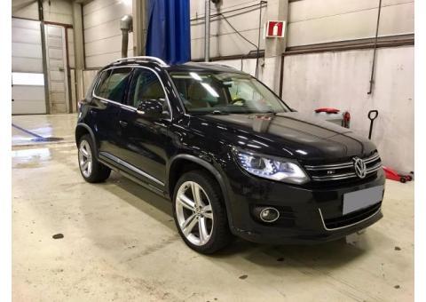 Volkswagen tiguan 20,140,4 motion exclusive rline,2014, 64000 km