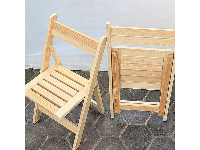 Sillas plegables de madera portal venta anuncios de for Compra de sillas plegables