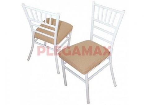 Venta de sillas Tiffany metalicas