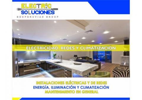 Electric Soluciones - Electricidad, Redes y Climatización