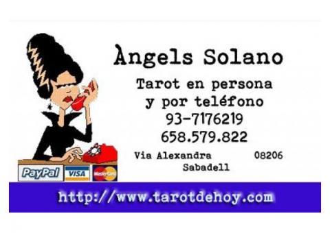 Tarot telefonico tradicional con Angels Solano 658579822