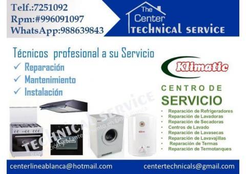 Reparacion de lavadoras klimatic en lima 988639843/* tecnicos