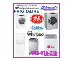 Técnicos de lavadoras frigidaire y mantenimientos 993-076-238
