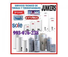 Servicio técnico de termotanques junker y mantenimientos