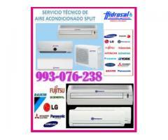 Servicio técnico de aire acondicionado y mantenimientos 993-076-238