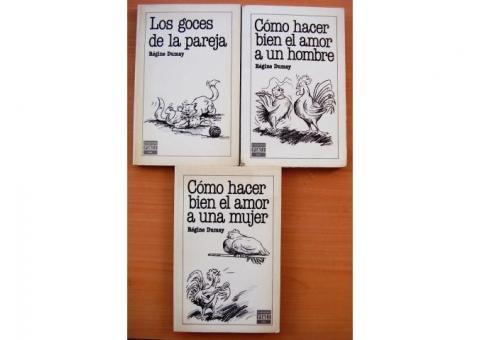 Set 3 Libros Goces de la Pareja Regine Dumay
