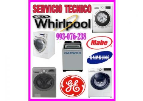 Servicio técnico de lavadora whirlpool 993-076-238
