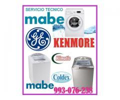 Servicio técnico de lavadoras mabe y mantenimientos 993-076-238