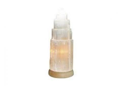 Lámpara de selenita 20cm