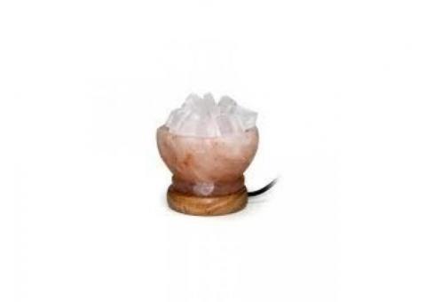 Lámpara sal cuenco Usb Cromoterapia