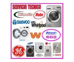 Servicio técnico de lavadoras mabe y mantenimientos