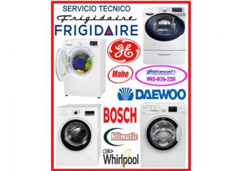 Servicio técnico de lavadoras y reparaciones general electric