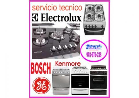 Servicio tecnico de cocinas a gas y mantenimientos electrolux