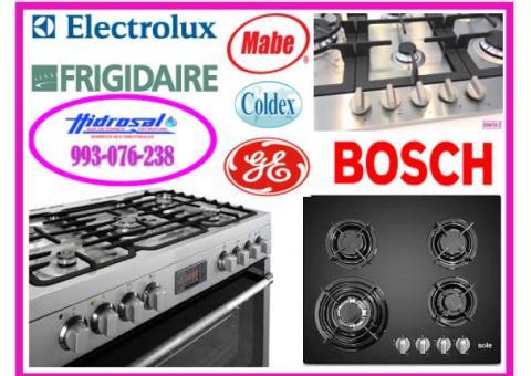 Servicio técnico de cocinas a gas y mantenimientos 993076238