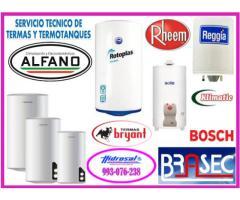 Tecnicos de termas electricas  y reparaciones