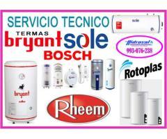 Servicio técnico de termas a gas brasec 993076238