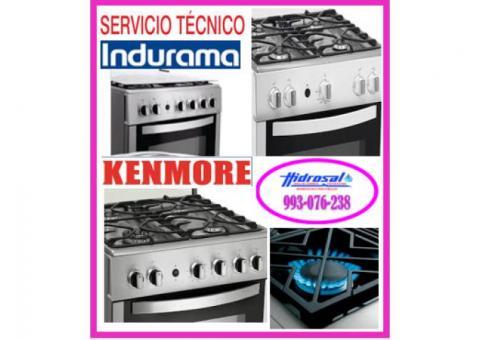 Reparaciones de cocinas a gas indurama 993076238