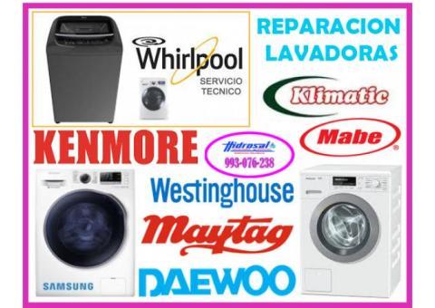 Reparaciones de lavadoras whirlpool 993076238