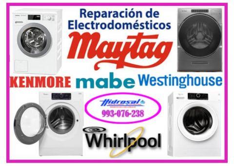 Servicio de reparaciones de secadoras maytag