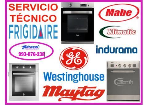 Servicio tecnico de cocinas indurama 993076238