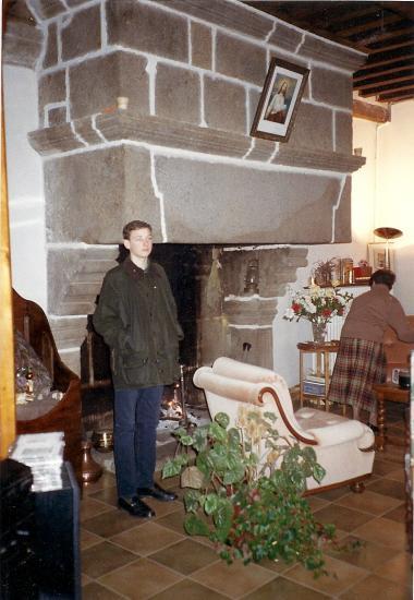 10 janvier 1993, au manoir de la Servière.