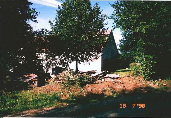 18 juillet 1998, fin du démontage de l'ancienne