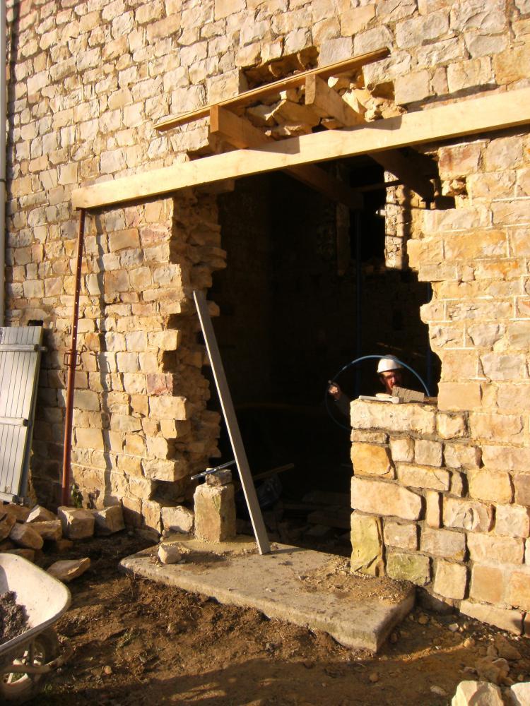 23 novembre 2010, la porte Sud de la ferme.