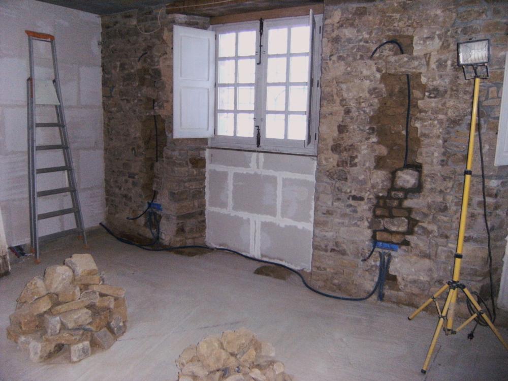 18 décembre 2010, dans la grande salle du bâtiment Nord, le mur Nord.
