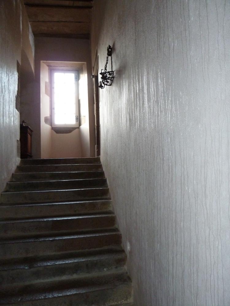 8 janvier 2011, condensation dans le grand escalier.