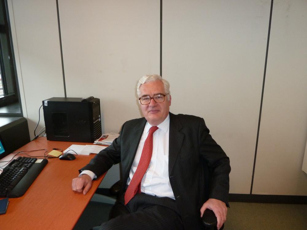 11 janvier 2011, dans mon nouveau bureau à Bercy.