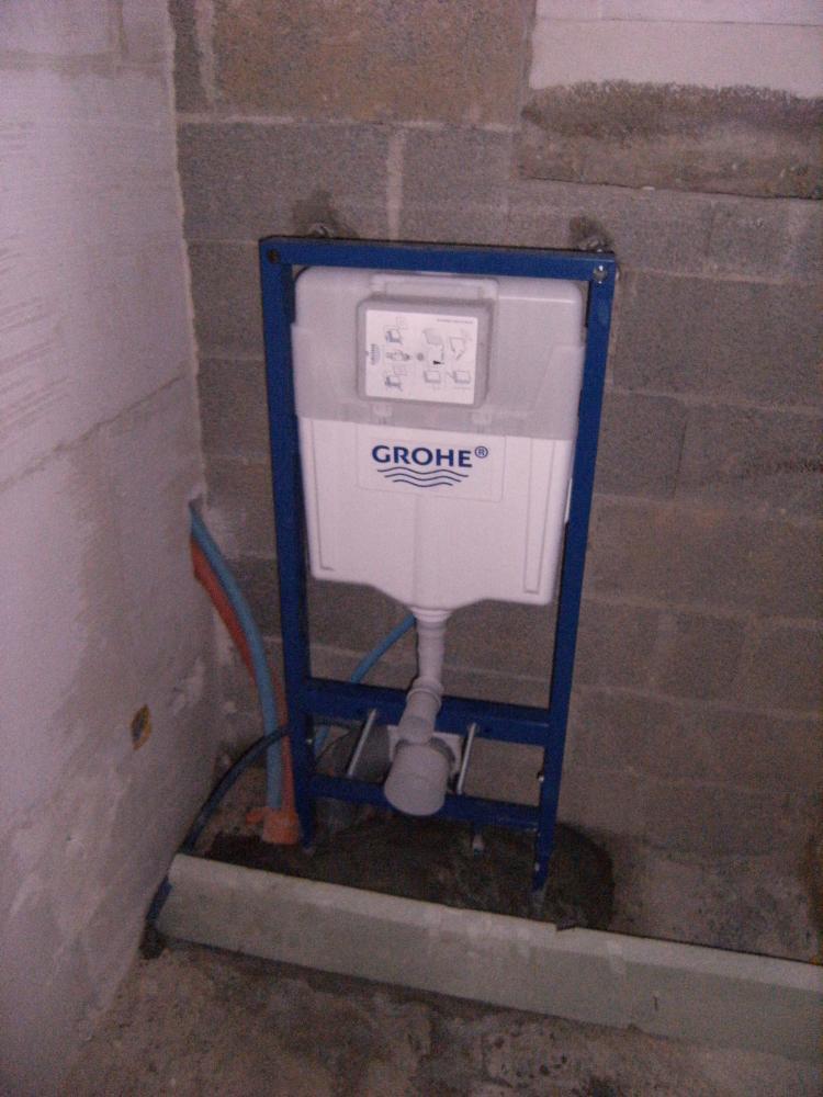 9 février 2011, dans le futur cabinet de toilettes du rez-de-chaussée du bâtiment Nord.