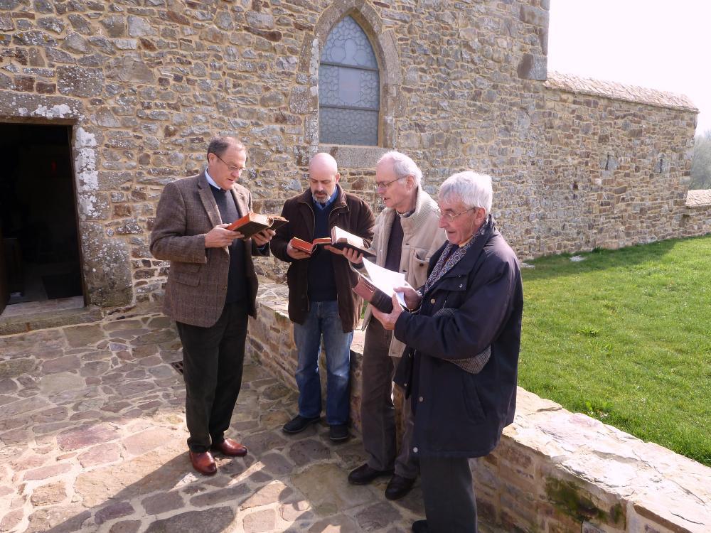 20 mars 2011, avant la messe à la Chaslerie (2).