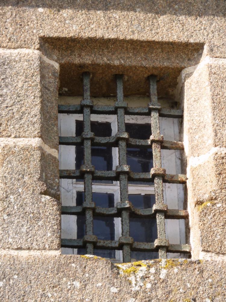 25 mars 2011, petite grille de la tour de Rânes.