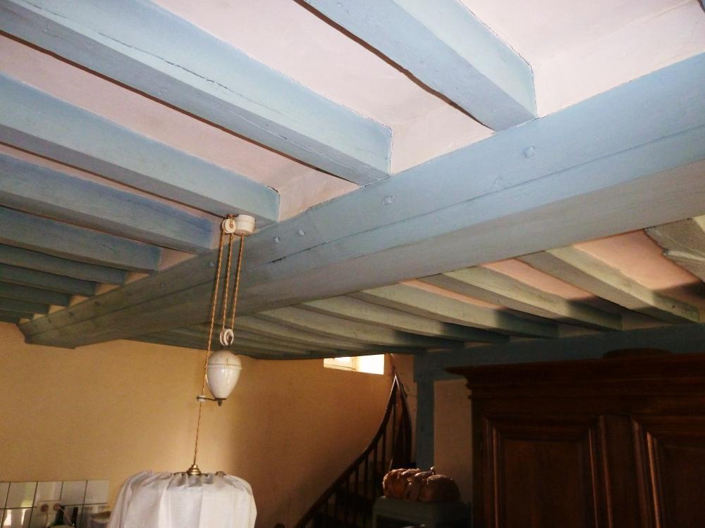 7 mai 2011, un plafond du logis de Marc CHALUFOUR.