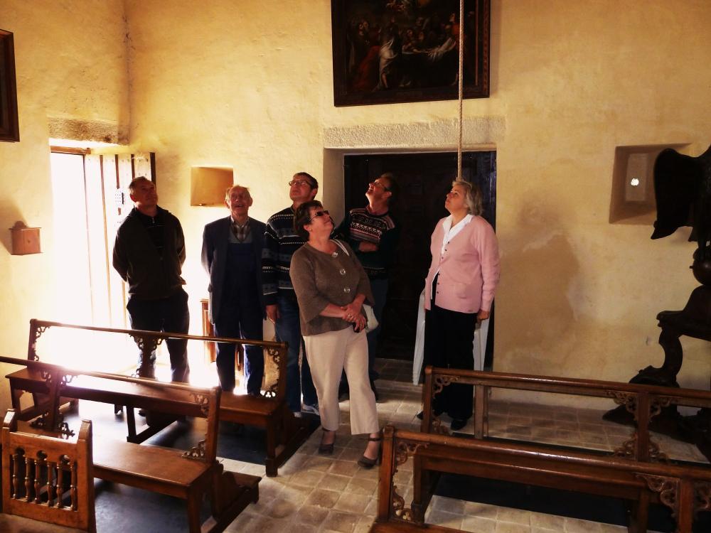 22 mai 2011, visite de la chapelle.