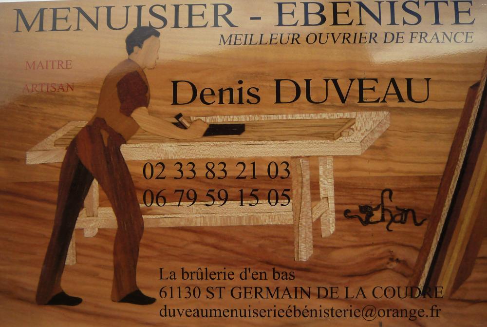 31 mai 2011, l'enseigne de Denis DUVEAU.