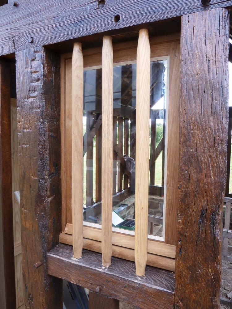 31 mai 2011, une fenêtre de la maison de Toutou.