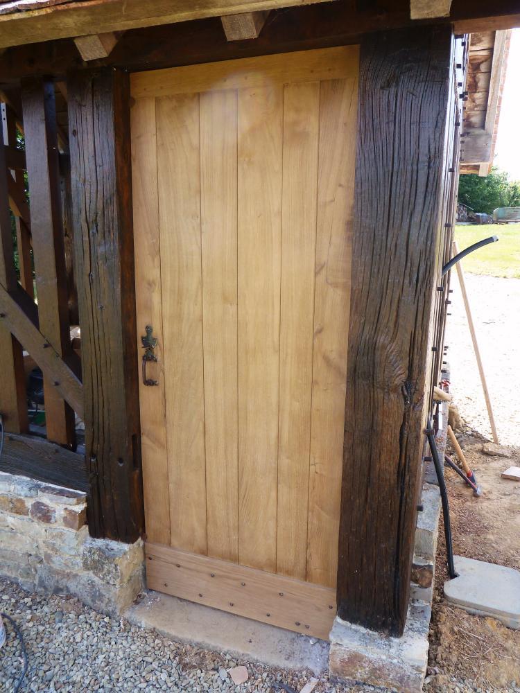 31 mai 2011, la porte de la maison de Toutou.