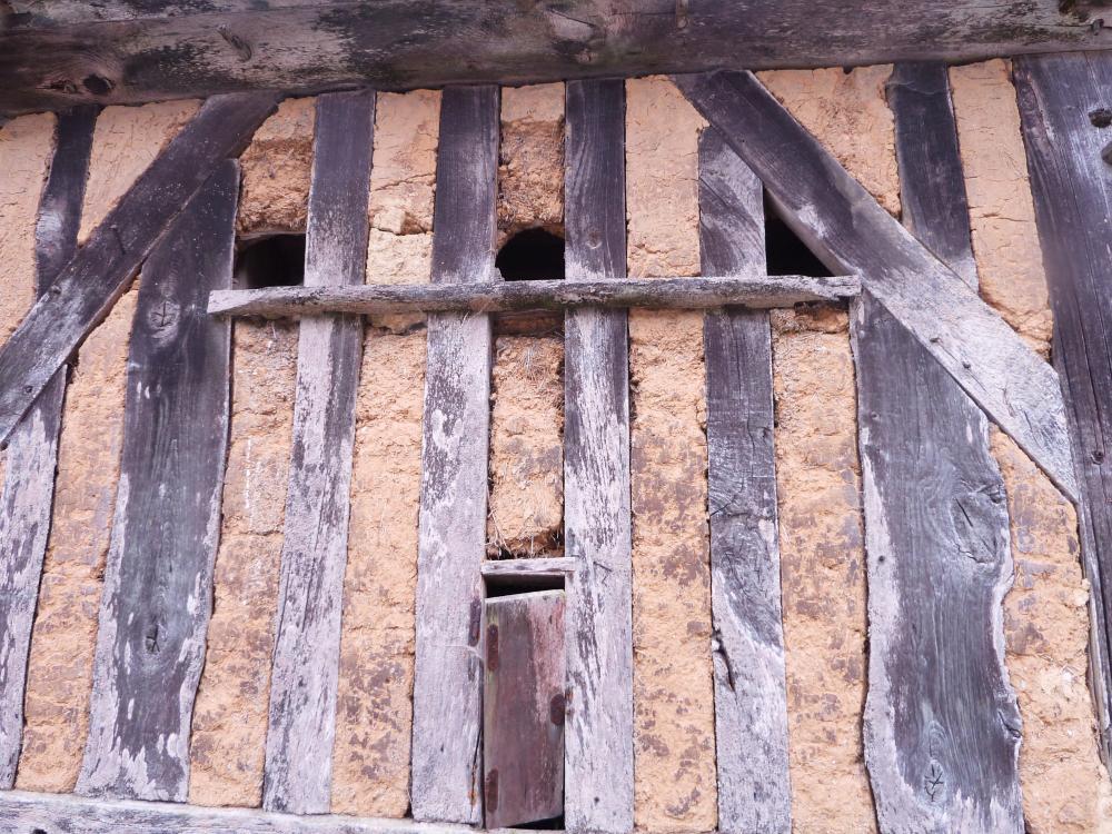 28 juin 2011, vieux nichoirs rustiques à la Pronière.