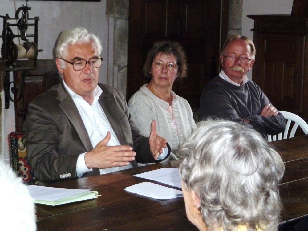 9 juillet 2011, PPF parle, les HEDOUIN écoutent.